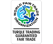 WFTO Gauranteed Fair Trade logo on the Cape Treasures home page